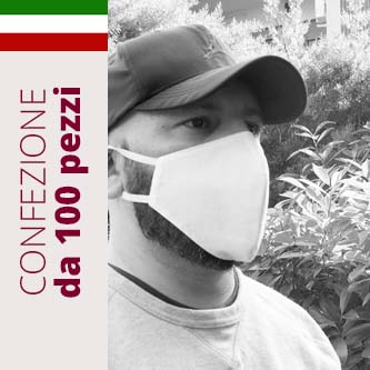 MASCHERINA MADE IN ITALY 100 PEZZI
